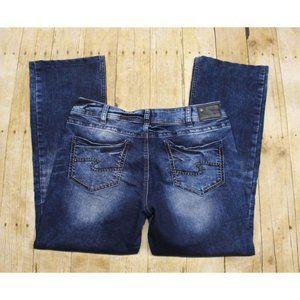 Silver Suki Mid Slim Boot Super Stretch Jeans 34